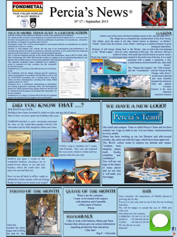 PERCIA'S NEWS SEPTEMBER 2013