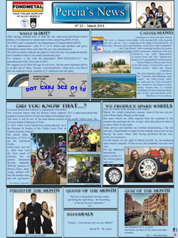 PERCIA'S NEWS MARCH 2014