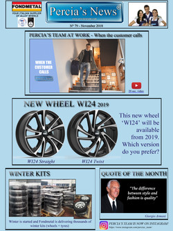 Percia's News - NOVEMBER
