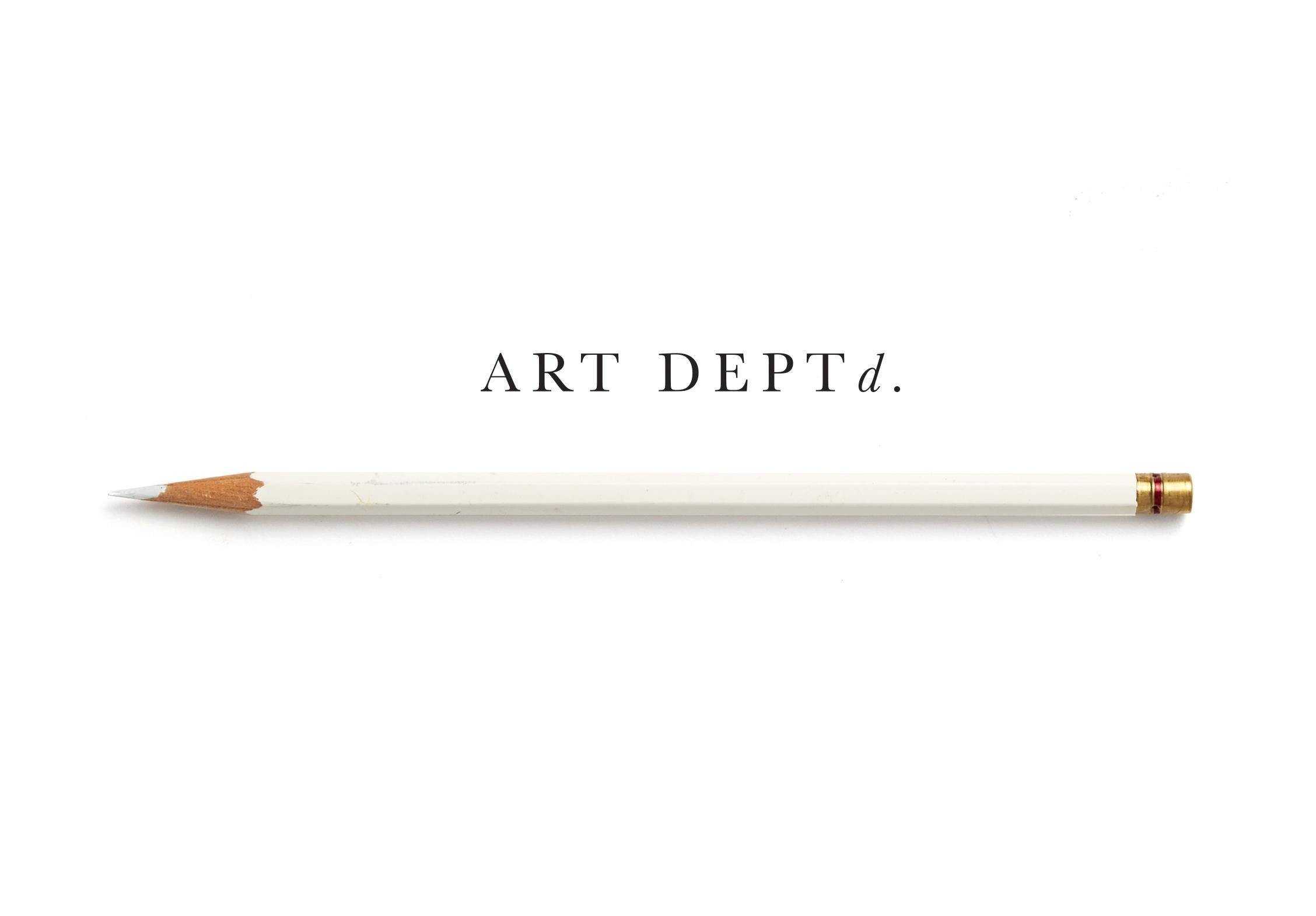 Art Departd.