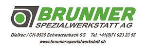 Logo Brunner Spezialwerkstatt AG ohne Fi
