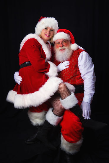Mrs. Claus Plus Santa does Corporate Events