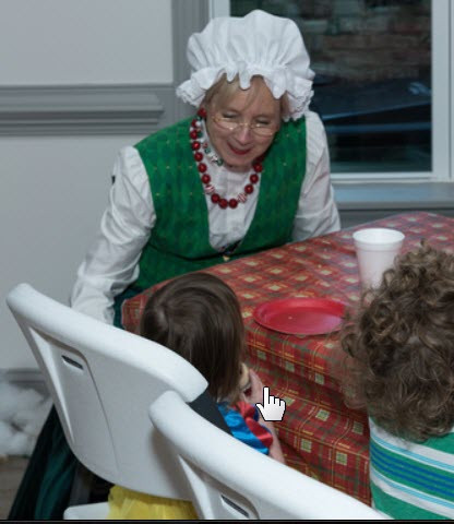 Mrs. Claus Talks To Children Too