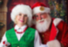 Mrs. Claus and Santa love home visits