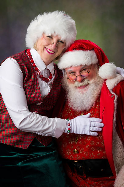 Mrs. Claus and Santa want to help those who can't spend Christmas at home enjoy the season