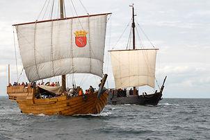 Medival Era Sailing Cog