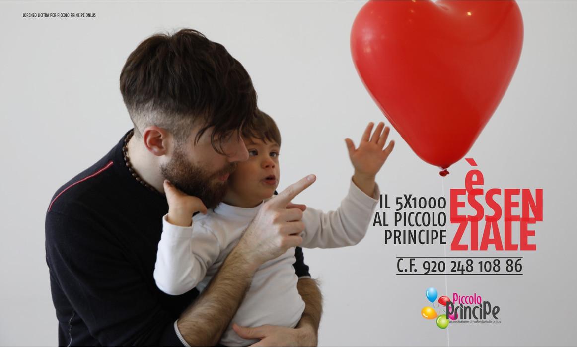 Campagna 5x1000 È Essenziale. Testimonial Lorenzo Licitra
