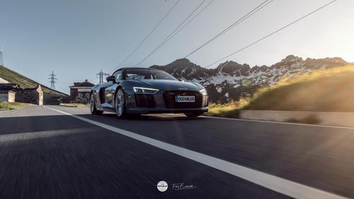 Audi R8 V10 Spyder 600 MILES