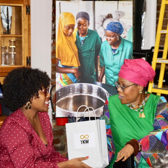 #1000Women Clean Cookstove