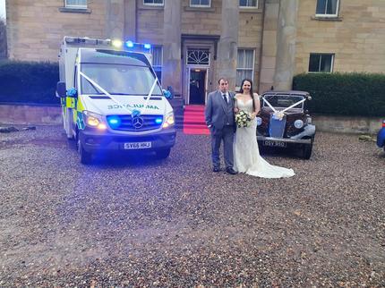 Ambulance and Austin 18