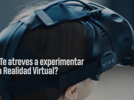 ¿Te atreves a experimentar la Realidad Virtual?