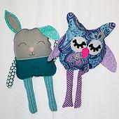 Rabbit & Owl Stuffies.jpg