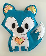 2016 - Sew Happy After School Program Is In Over 30 schools and being taught by 12 instructors First sewing kit, the Happy Fox is made by Haan Crafts (Made in Indiana with recycled materials)