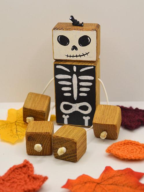 Spooky Skeleton Doll