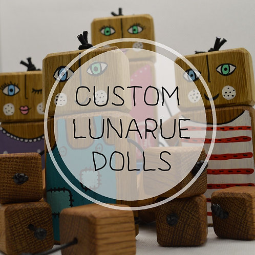 Custom Lunarue Doll