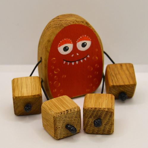 Cooky the red alien Minirue doll