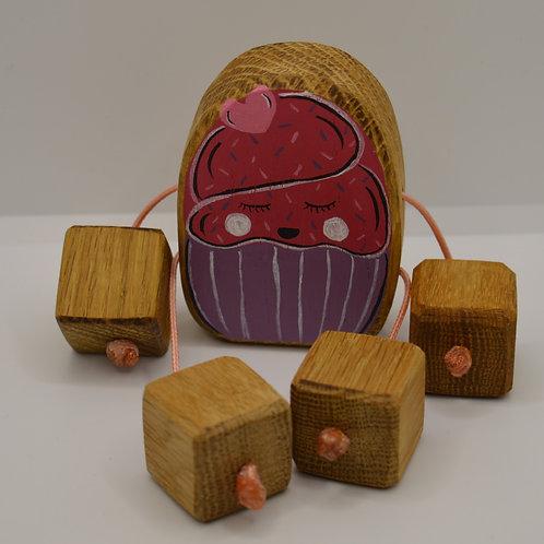 Strawberry love cupcake minirue doll