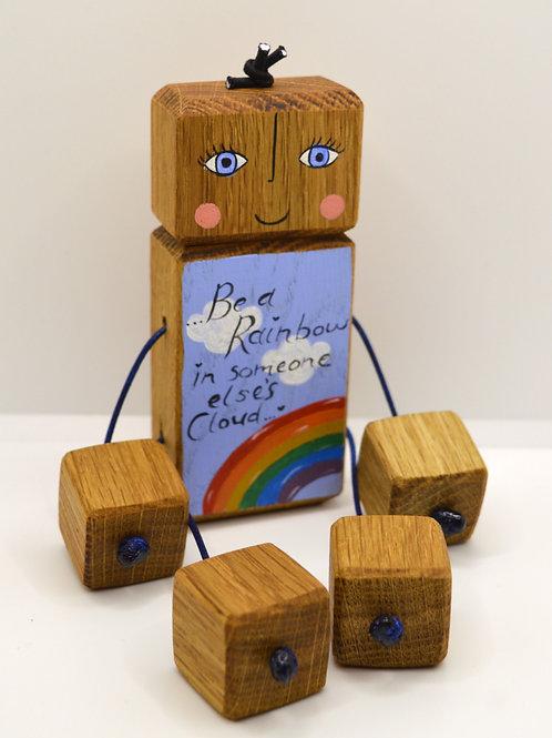Be a rainbow doll