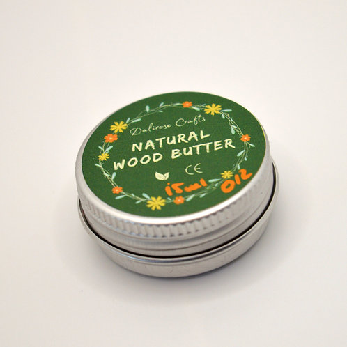 Natural wood butter by Dalirose Crafts