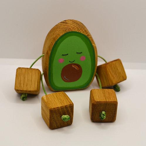 Avocado minirue doll