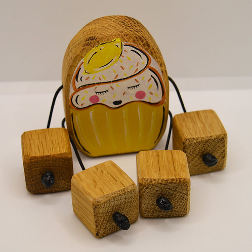 Lemon cupcake minirue doll