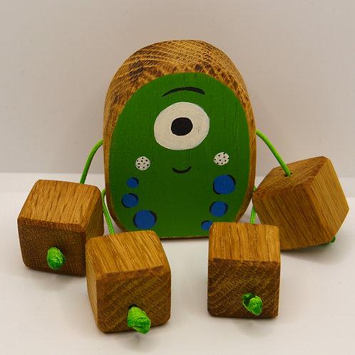 Goo the green alien Minirue doll