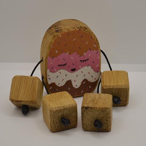 Scoops of Ice cream minirue doll