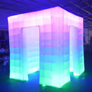 LED Photo Booth Tent