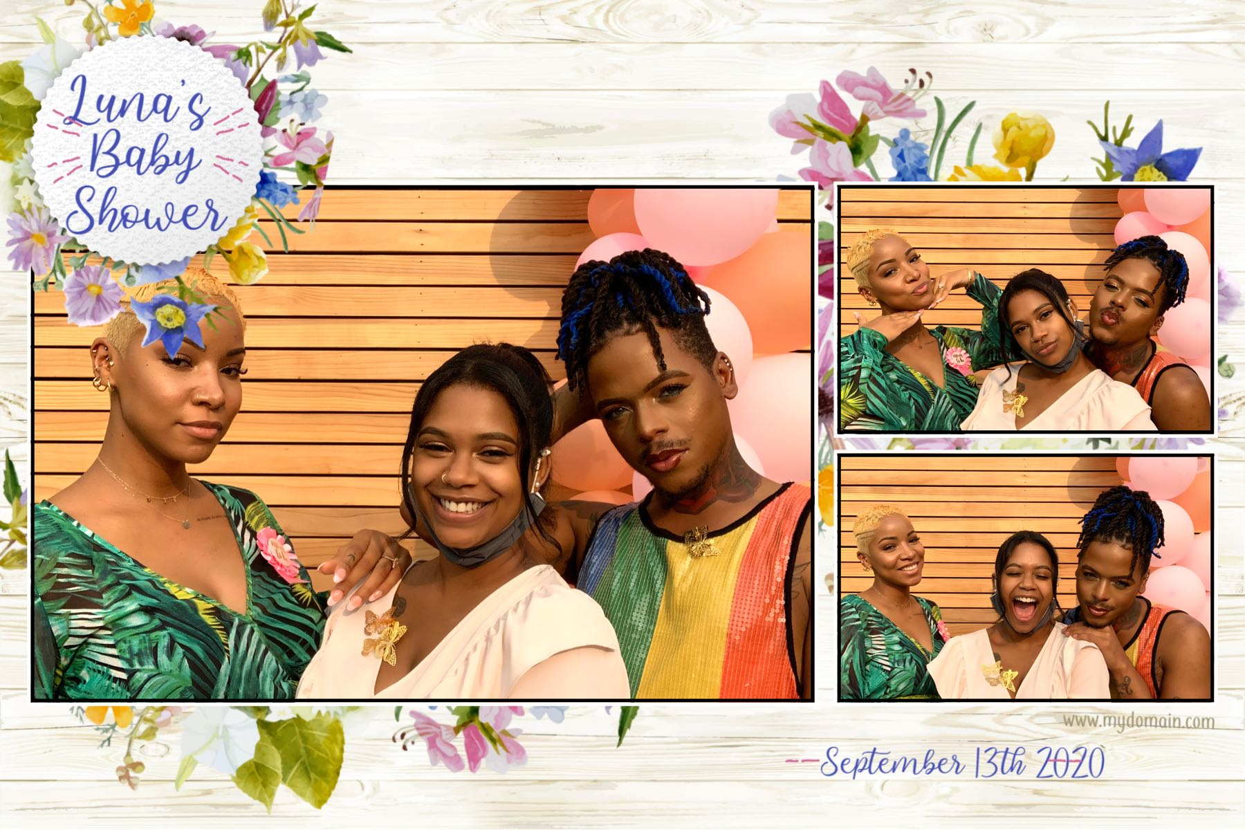 love wins photo booth