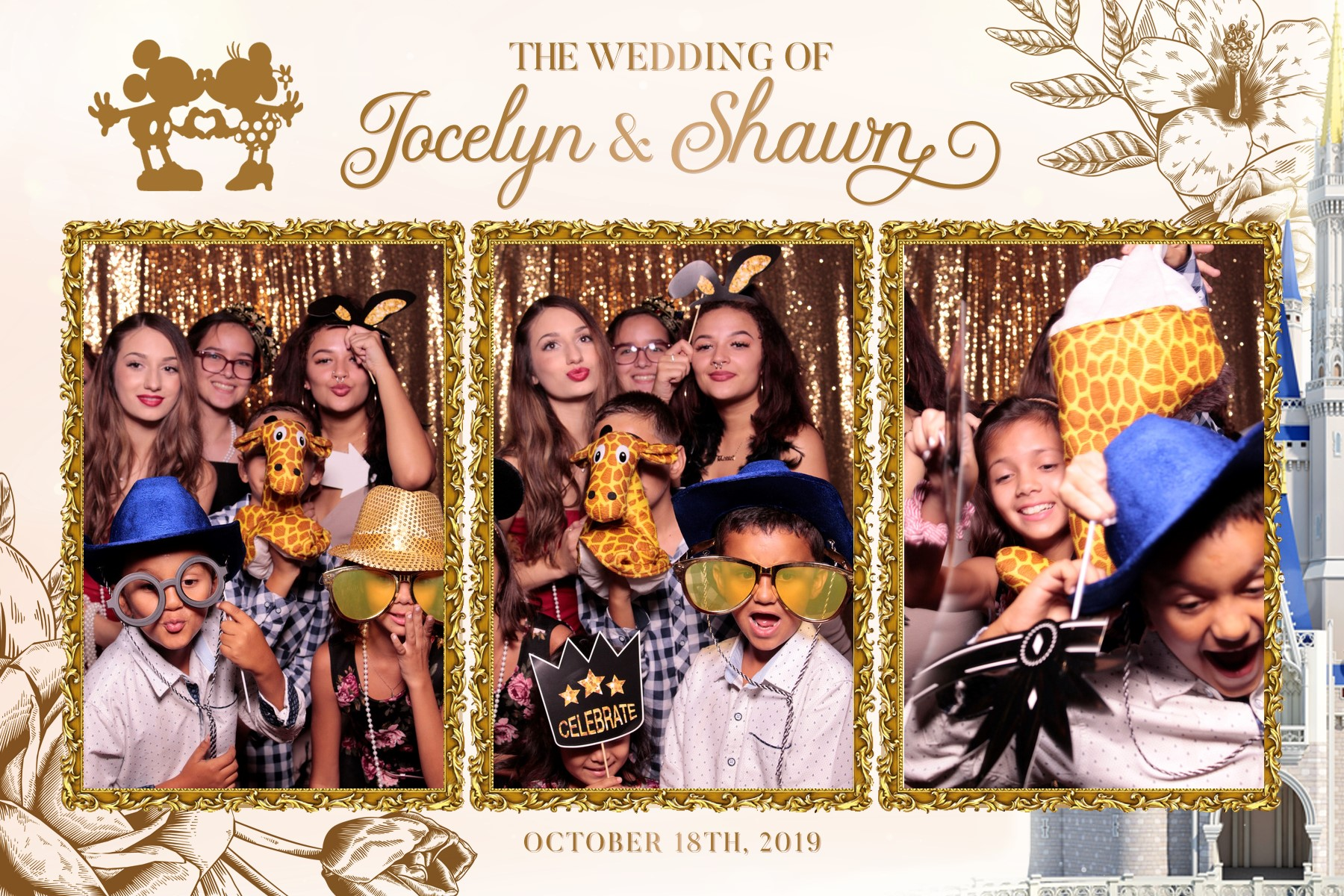 small gathering photo booth