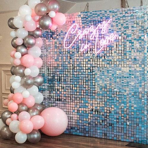 Iridescent Premium Shimmer Wall