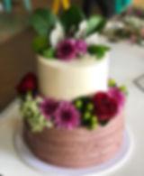 Engagement cake for the loveliest vegan