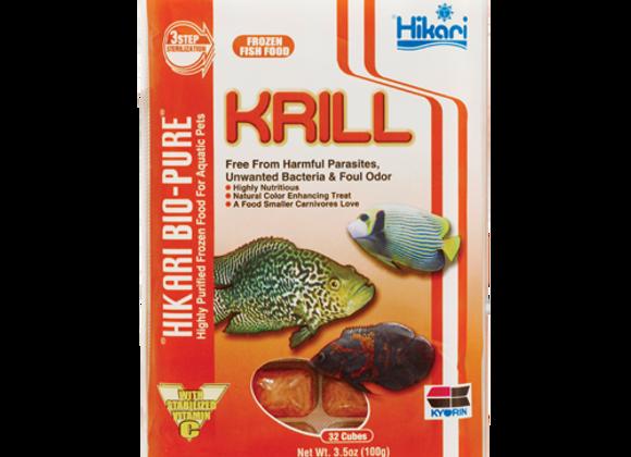 Hikari Krill 3.5oz cubes