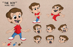 'The Boy' Model Sheet