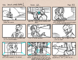 Holly Comes Home! Storyboards Pg1