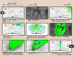Riftin' Storyboards Pg1
