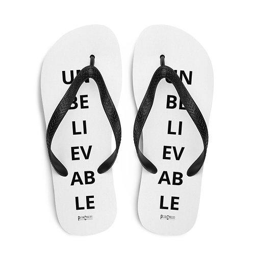 UNBELIEVABLE Flip-Flops