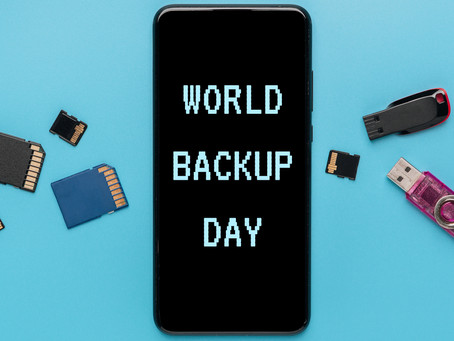 Today is World Backup Day