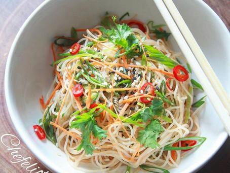 Thai noodle salad!