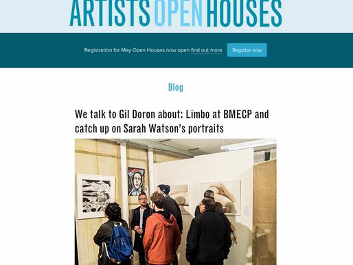 Limbo - conversation with Gil Mualem-Doron & Artists Open Houses
