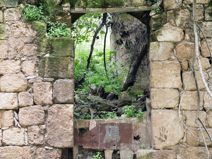 Web_al lajjun ruined house door DSC_1231