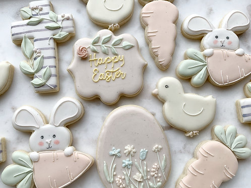 1 Dozen Easter Cookies