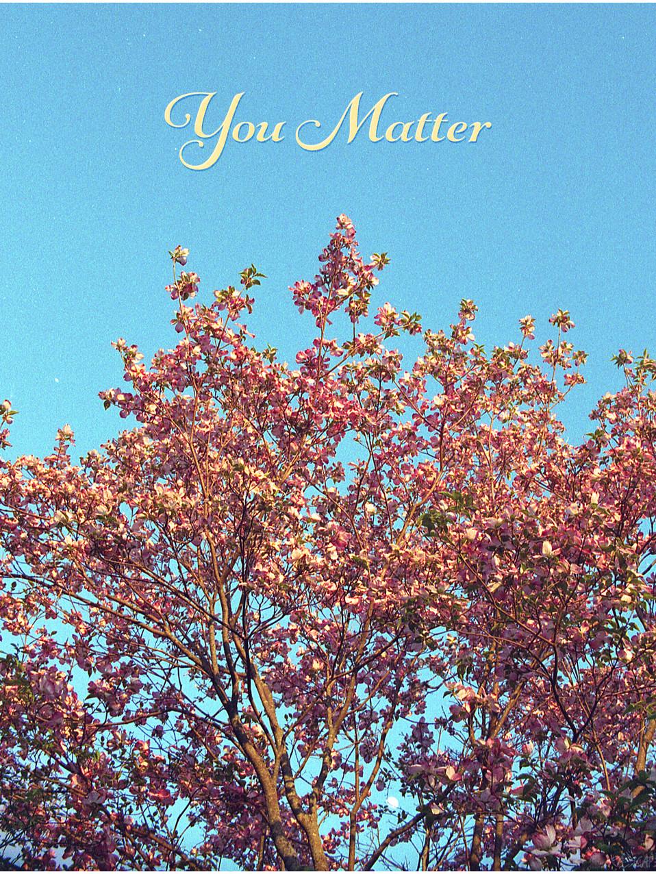 you matter blue