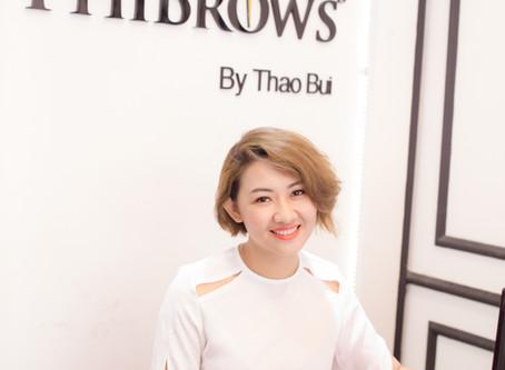 Jennie Brows Academy - Ms. Jennie Thảo Bùi Chuyên Viên Đào Tạo Học Viên Phun Thêu Thẩm Mỹ