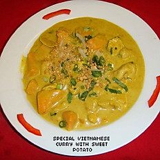 Special Vietnamese Curry with Sweet Potato