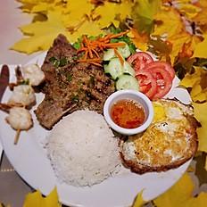Grilled Pork Chops - Cơm Sườn
