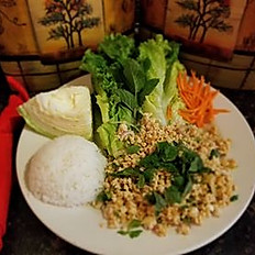 Larb - Chicken Salad Chiang Mai Style