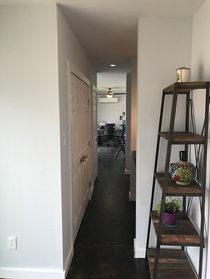 HALLWAY FROM BEDROOM TO BATHROOM CONTAIN