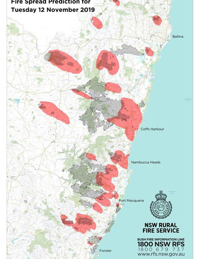 NSW RFS fire prediction