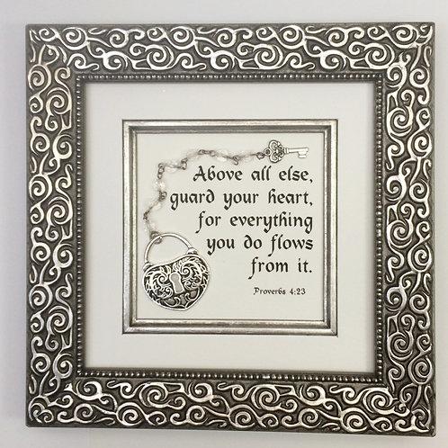 Proverbs 4:23 Silver